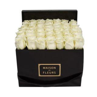 Белые розы Maison des Fleurs