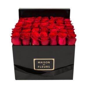 Красные розы Maison des Fleurs