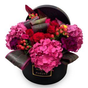 Розово-фуксиевые гортензии Maison des Fleurs