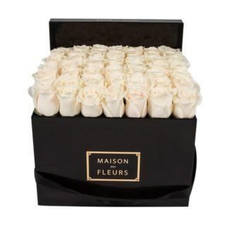 Кремовые розы Maison des Fleurs