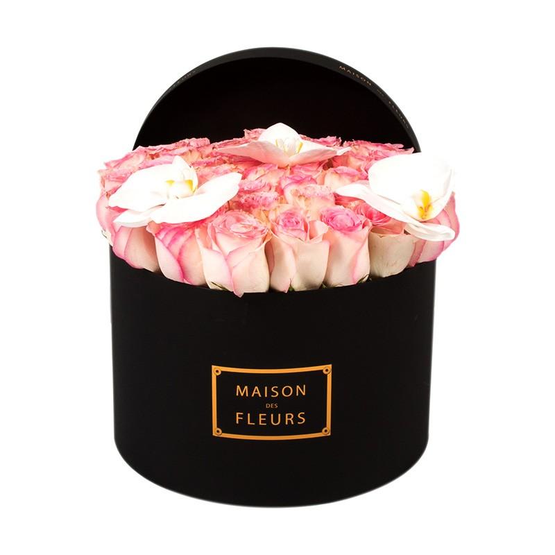 Нежно-розовые розы