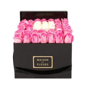 Розовые розы Maison des Fleurs