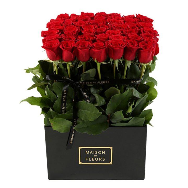 Букет из красных роз Maison de Fleurs