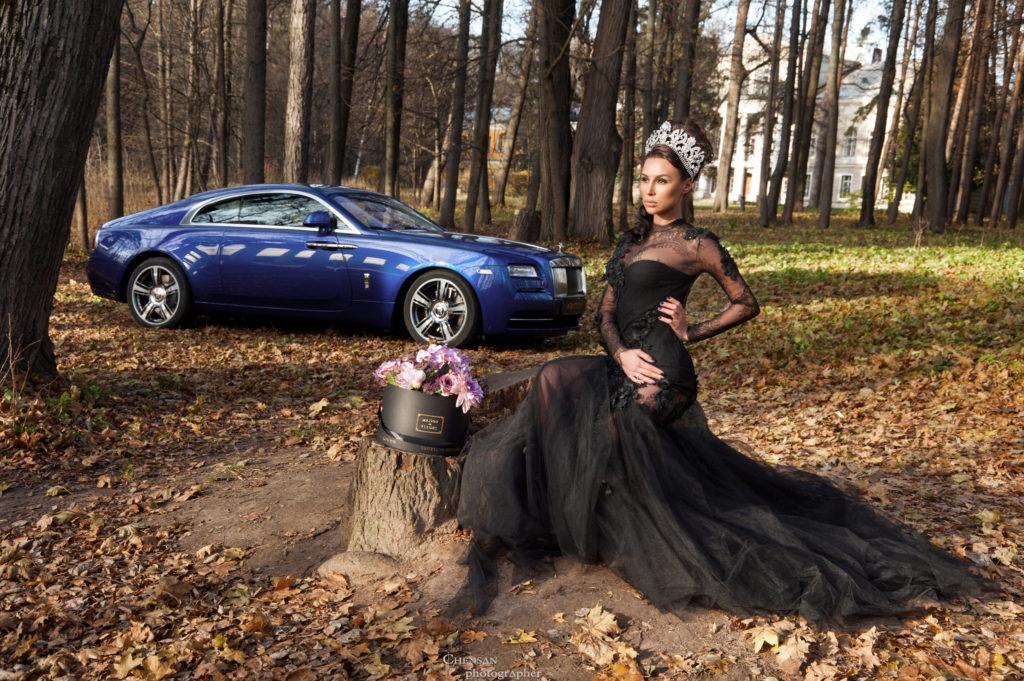 Коллаборация Rolls-Royce с Maison Des Fleurs